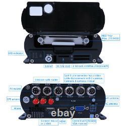 1080N 8CH GPS 4G HDD Car DVR MDVR Video Recorder Rear View Monitor on PC Phone