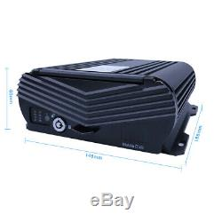 1080N AHD HDD 8CH GPS WIFI 4G Car DVR MDVR Video Record 7 Monitor CCTV Camera