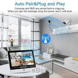 12.5 Wifi Wireless Security Monitor Indoor/Outdoor CCTV Camera DVR NVR Recorder