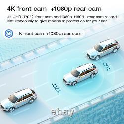 12'' Autokamera 4K Rückfahrkamera Spiegel DVR Recorder Camcorder SONY Nachtsicht