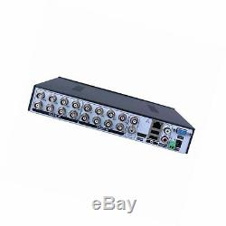 16CH 5-in-1 1080P CCTV Digital Network Video Recorder Hybrid NVR AHD TVI CVI DVR