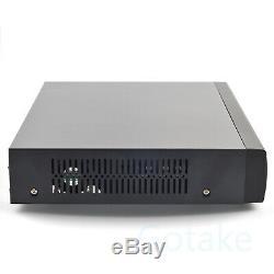 16CH Security Video Recorder AHD CVI TVI BNC CCTV IP Camera Hybrid DVR NVR P2P