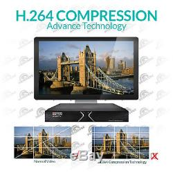 16 Channel Aveesa True HD CCTV HDTVI Hybrid Dvr 1080pHigh Definition Recorder uk