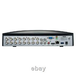 16 Channel Full HD 1080p Resolution Digital Video Recorder with 2TB Hard Drive