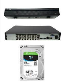 16 Channel XVR 2MB 1080 IP DVR CVI TVI AHD Recorder CCTV 4TB OEM Dahua