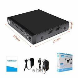 16 Channels DVR Recorder Hybrid DVR H. 264 CCTV Security Camera System Digital