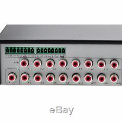 32CH Channel DVR CCTV Security Surveillance Recorder P2P IP Cloud Motion Detect