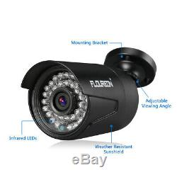 4CH 1080P Outdoor CCTV Kit with 1TB Hard Drive DVR Recorder Home Security System