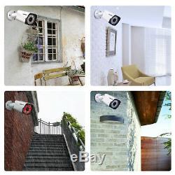 4CH H. 265+ 1080P HD AHD Video DVR Recorder 4 x 5MP CCTV Security Camera System