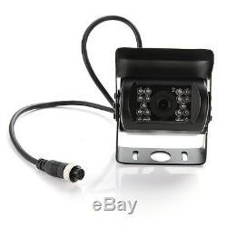 4CH Kanal Auto Bus LKW Echtzeit DVR Recorder + 4 CCTV Kamera + Video Power Kabel