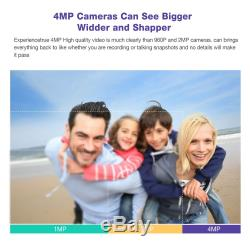 4CH P2P 4.0MP AHD CCTV HDMI DVR Video Recorder for Security 1440P Camera System