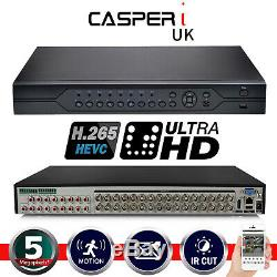 4/8/16/32 Channel UK Smart CCTV DVR 5MP HD 1920P Video Recorder VGA HDMI BNC