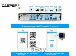 4/8/16/32ch 5mp Dvr Cctv Video Recorder Ultra Hd Ahd Tvi Hdmi P2p Home Security