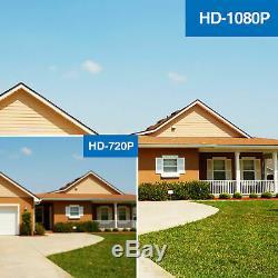 4/8/16 Channel Smart CCTV DVR AHD 1080N Recording 720P HD VGA BNC HDMI 1TB HDD