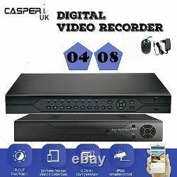 4/8 CH Support DVR 2MP 1080P CCTV H. 264 Video Recorder with 1 to 4TB Hard-Drive