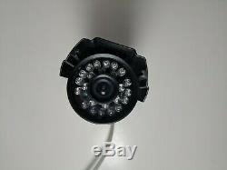 4 Q-See Qsm1424w Color Security Cameras with 500GB DVR Qs494 4-Channel Recorder