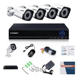 4 ch 5MP HD video DVR recorder 5MP CCTV bullet cameras home surveillance system