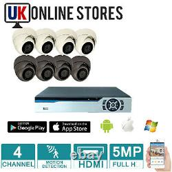 5mp Cctv System 4ch Video Recorder Ahd Camera 2mp 1080p Outdoor