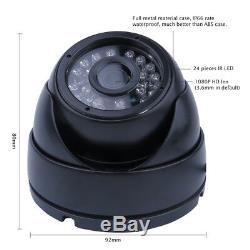 720P 4CH 2256G SD Car Vehicle DVR MDVR Video Recorder Kit CCTV Rear View Camera