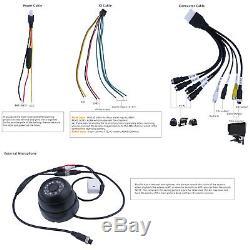 720P AHD 4CH SD 256G GPS Car MDVR DVR Record Rear View CCTV IR Camera 7 monitor