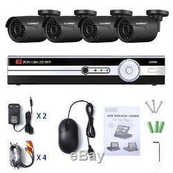 7 4CH 1080N DVR Record 1080P CCTV IR Home Surveillance Security Camera System