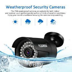 8CH 1080P CCTV DVR IP Camera Security AHD DVR Home Video Recorder NVR System Kit