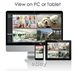 8CH 1080P High Definition Hybrid 4-in-1 HD TVI DVR Video Recorder CCTV