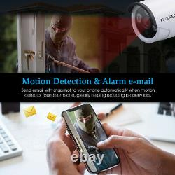 8CH 1080P Wifi Video Recorder DVR CCTV System with 1080P Camera+12 LCD Monitor
