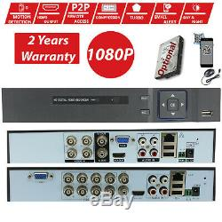8CH 4CH 5IN1 1080P HDMI H. 264 DVR Video Recorder CCTV Camera Security System