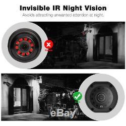 8CH AHD DVR Recorder 1080P CCTV Surveillance Outdoor Camera Home Security System