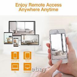 8CH Wireless CCTV Security System 1080P DVR NVR Recorder 1080P IR IP66 IP Camera