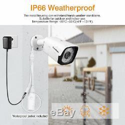 8CH Wireless HD 19201080P WIFI CCTV NVR DVR IP Cameras Security System Recorder