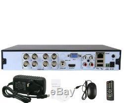 8 Channel DVR FULL HD 1080N 4IN1 smart cctv DIGITAL Video Recorder P2P HDMI VGA