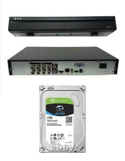 8 Channel XVR 2MB 1080 IP DVR CVI TVI AHD Recorder CCTV 1TB OEM Dahua
