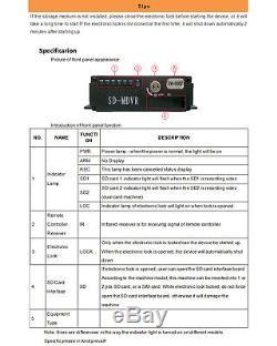 9 Monitor DVR Recorder CCTV Car Rear View Camera System Backup Camera for