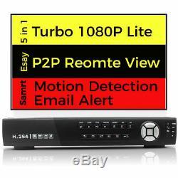 AHD TVI 960H 4/8/16 CHANNEL 1080P DVR VIDEO RECORDER HD NETWORK P2P Cloud HDMI