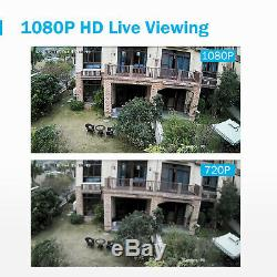ANNKE 1TB CCTV 8CH 5IN1 DVR Recorder 3000TVL Home Outdoor Security Camera System