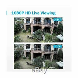ANNKE 8CH Security Camera System HD-TVI H. 264+ Surveillance DVR Recorder with
