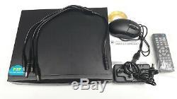 ANSPO 4 Channel 2TB Smart 1080N/1080P HD CCTV DVR Video Recorder VGA HDMI BNC