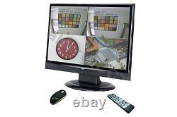 AVTECH AVL-681 Professional 19 H. 264 LCD Network Monitor 4ch CCTV Recorder DVR