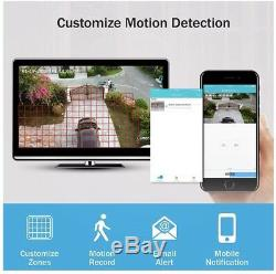 Annke CCTV 8+2CH DVR Recorder IP 1080p Camera System