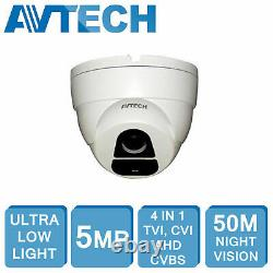 Avtech 5mp Hd Dvr Xvr 4ch 8ch 16ch Cctv Security Recorder 1080p Hdmi CVI Tvi Ahd