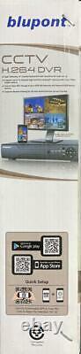 Blupont 16 Channel CCTV DVR Recorder 1080N H. 264 AHD HD 720P VGA HDMI BNC