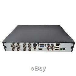 Blupont 8 Channel 2TB CCTV DVR Recorder 8CH H. 264 AHD HD 720P VGA HDMI BNC