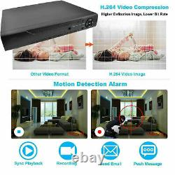 CASPERi CCTV 4CH DVR 5MP AHD TVI 1920P Digital Video Recorder VGA HDMI BNC UK
