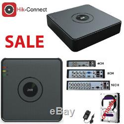 CCTV 4CH 8CH 1080P Full HD DVR Recorder 2MP Cameras Outdoor Security System Kit