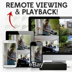 CCTV 4 Ch Turbo HD 2MP 1080P Lite HDMI AHD TVI CVI DVR camera Video Recorder