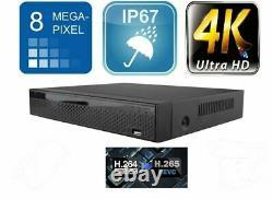CCTV 5MP / 8MP 16CH AHD DVR 4K-N Ultra HD HDMI Surveillance Recorder UK