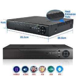 CCTV 5.0MP 4/8/16 Channel AHD HDMI DVR 1920P UHD Digital Video Recorder Mobile