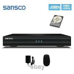 CCTV DVR Recorder 4/8 Channel 1080N HDMI/VGA HD 5in1 for Home Secutiy System Kit